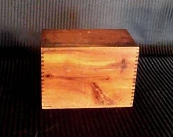 Small Antique Wood Box