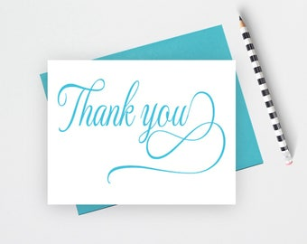 Thank you note cards, Wedding thank you cards set, Wedding Stationery, thank you notes, thank you cards wedding,notecards, FTC4