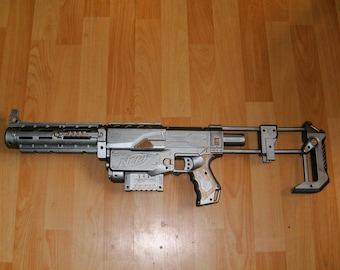 Steampunk Sky Pirate Crossbow Nerf Gun Painted Ray Gun Laser Blaster  Revolver Working Toy Dart Gun