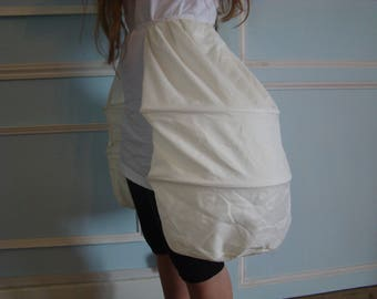 child petticoat marie antoinette in baskets available in 3 colors for dress 17-18th century