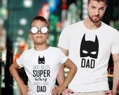 father son matching shirts / batman dad t shirt / batman t shirt / father and son shirts / family t shirts / family matching shirts