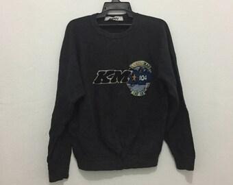 Rare!!Vintage 90s kansai man kansai yamamoto big logo sweatshirt