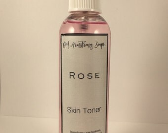 Facial Mist and Toner- Refresh your Skin with our Facial Mist and Toner - Perfect 4 oz. Size with a Fine Mist Sprayer