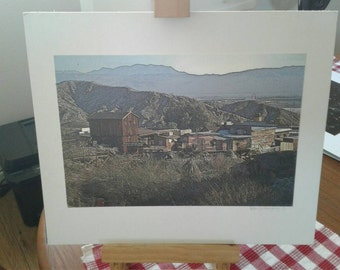 Calico Ghost Town photo / Calico Ghost Town / California / Ghost Town / western photo / home decor