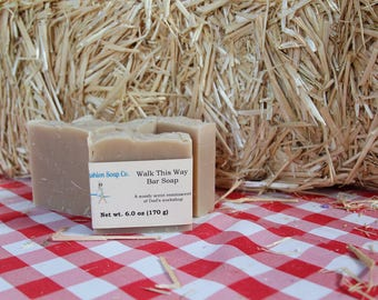 Walk This Way Bar Soap with Goats Milk