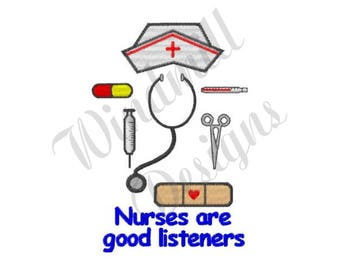 Nurse Tools - Machine Embroidery Design
