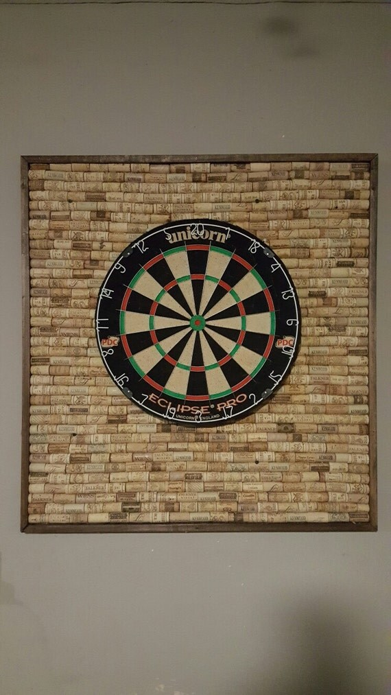 wine cork dartboard backer. Black Bedroom Furniture Sets. Home Design Ideas