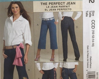 McCalls FREE SHIPPING M5142 Palmer Pletsch The Perfect Fit, Uncut Pattern, Copyright© 2006