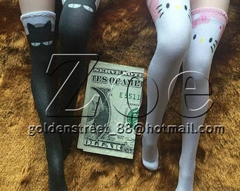 1/6 scale stockings for phicen lovely doll [socks only]