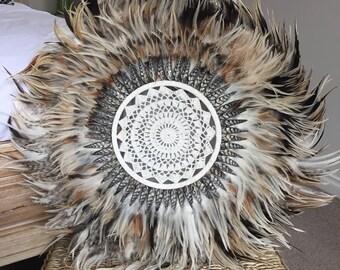 Tribal Feather Juju Hat