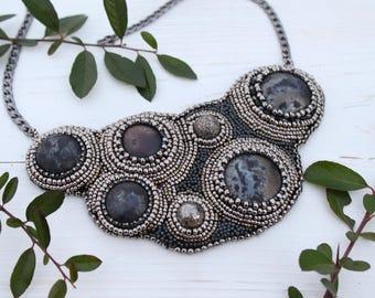 Galaxy Statement necklace collier