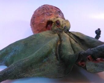 Green Octopus, tentacles, sea animal, marine animals