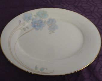 Sale!!! Vintage Noritake Blue and Gold #7703 Oval Platter - 20% off