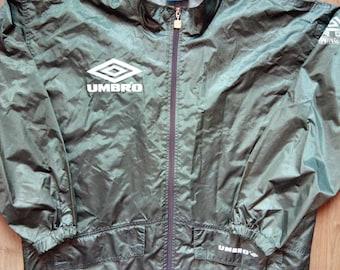 UMBRO Pro Training Mens Windbreaker Rainproof Nylon Tracksuit Top Jacket