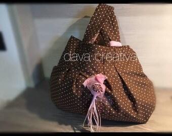 Polka dot bag may