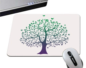Mousepad tree of life - 5 colors to choose from - Nature and Zen