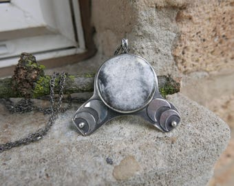 SALE New Moon Necklace