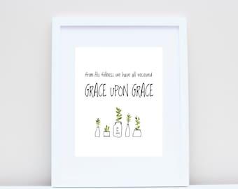 Grace Upon Grace (John 1:16)