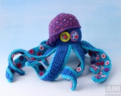Crochet toy OCTOPUS