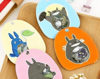 Stickers famous comic Totoro and his friends 60 piece set
