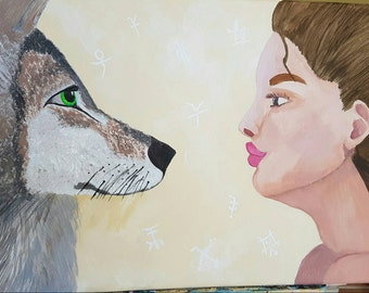 Face the wolf