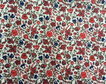 "13.7""x53"" Tana lawn fabric from Liberty of London, Helena's Meadow"