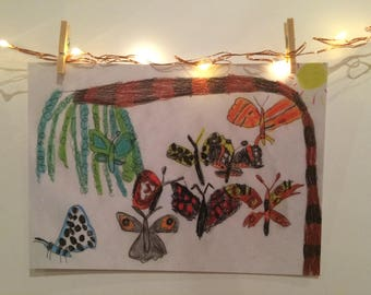 Pack of 6 ('Beautiful Butterflies and Moths')