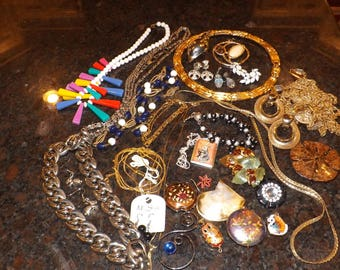 Large Vintage Lot of Vintage Jewelry