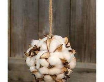 Cotton Blossom Ball