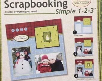 Scrapbooking Paper Boutique Scrapbooking Simple 1-2-3 *Winter