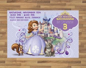 Invitación de la Princesa Sofia