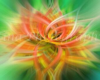 Photography wall art, photography wall decoration, meditation photography, spiritual photography, abstract art, healing art photo, greenery