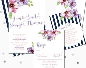 Wedding Suite - Stripes DIGITAL