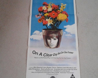 On a Clear Day Australian Cinema Poster