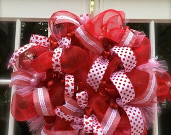 Valentine Day, Valentine Wreath, Valentine Door Wreath, Valentine Decoration, Front Door Wreath, Valentine Gift
