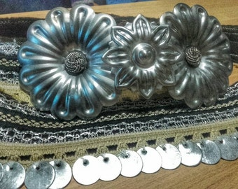 Buckle belts-Traditional style, ethnic modern style