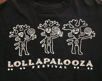 Vintage 1991 Lollapalooza Festival