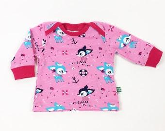 """Favorite shirt """"Port Kitz"""", organic Jersey"""