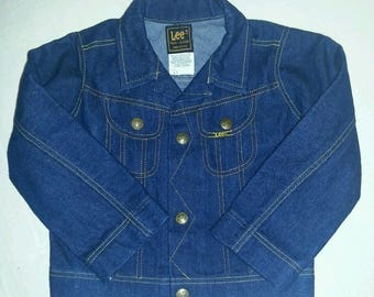 Vintage Toddlers LEE Jean Jacket size 4T