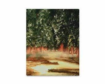 """Canvas Art Print 16""""x20"""" +3 other sizes -Winter Veil- FREE Shipping"""