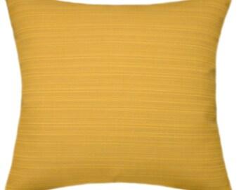 Sunbrella Dupione Cornsilk Indoor/Outdoor Pillow