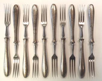 British Army Metal Vintage Inox Forks - Serving & Dining - Retro/Historical/Antique