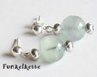 Ear studs earrings matching gemstone earrings fluorite necklace gemstone jewelry simply noble