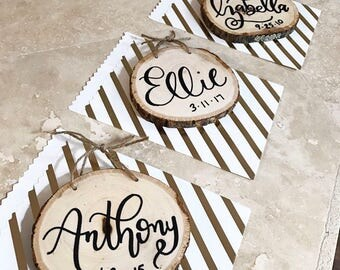 Small Hanging Name Signs