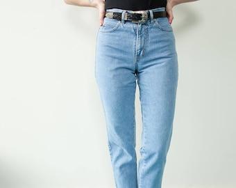 1990's Vintage High-waisted Denim Jeans