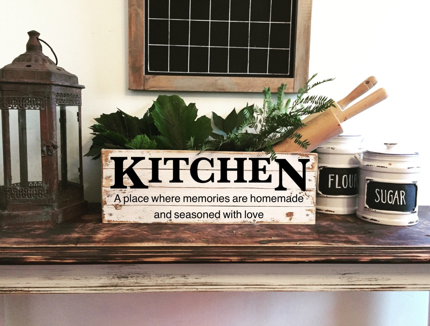 Decorative wooden crate vintage kitchen decor - Decorative wooden crates ...