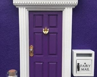 Fairy Door, Mailbox & Pixie Dust - Grape Juice Purple