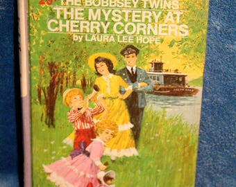 Vintage The Bobbsey Twins The Mystery at Cherry Corners by Laura Lee Hope 1971