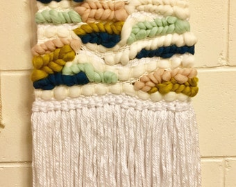 Wool Roving Wall Hanging | Nursery Decor