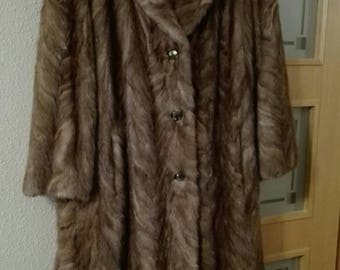 Coat of mink